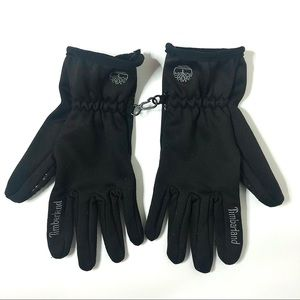 Timberland Insulated Black Running Gloves Size L